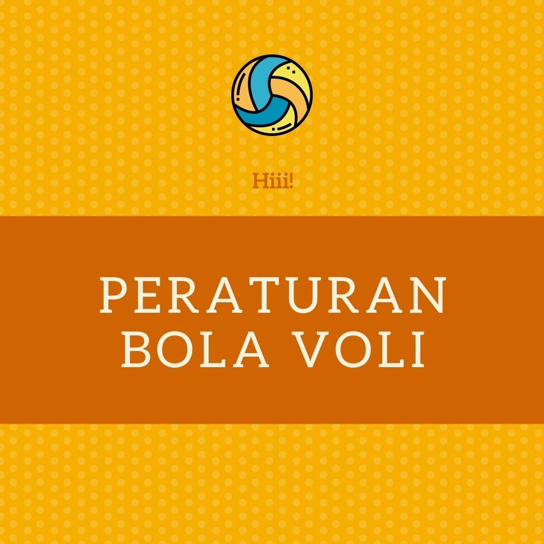 Peraturan Bola Voli